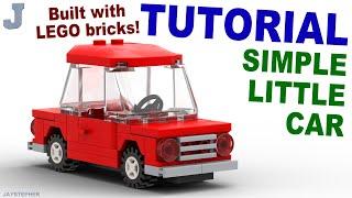 Tutorial - Simple Little Lego Car Thumbnail