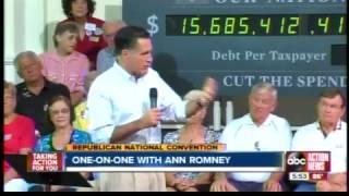 Linda Hurtado interviews Ann Romney