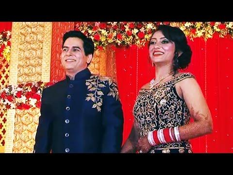 Bigg Boss 9 Ex-Contestant Aman Verma And Vandana Lalwani WEDDING Reception