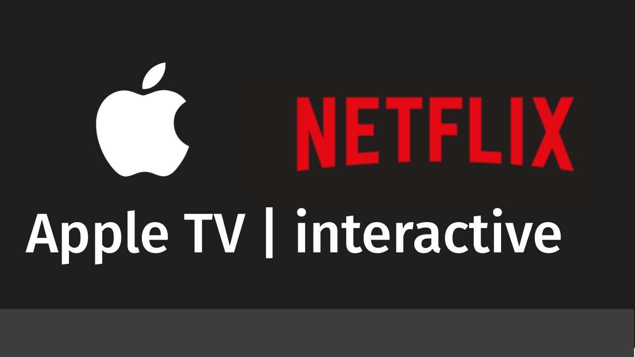 Play Netflix Interactive Content on Apple TV - workaround | Apple TV 4k ,  Apple TV 3, Apple TV4
