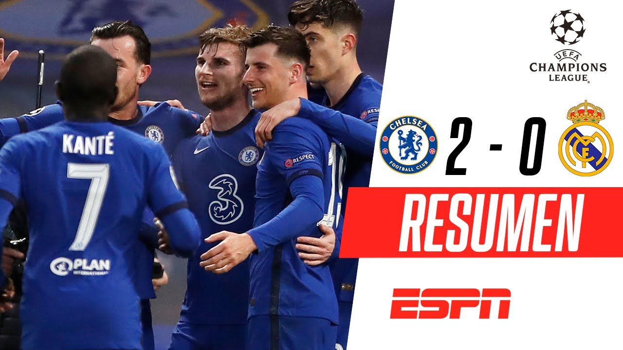 ¡LOS BLUES ELIMINARON AL MERENGUE Y HAY FINAL INGLESA! | Chelsea 2-0 Real Madrid | RESUMEN