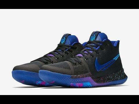 NBA 2k18- Nike Kyrie 3 Flip the Switch- Custom Colourway - YouTube 3572ac1240b
