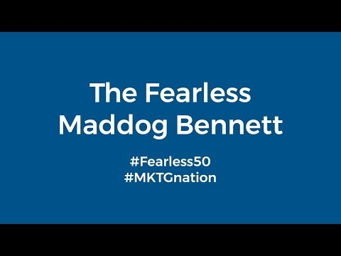 "Madison ""Maddog"" Bennett #Fearless50"
