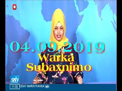 Warka Subaxnimo SNTV 04.09.2019