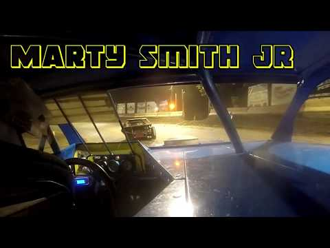 In Car Cam of Marty Smith Jr at Highland Speedway IL. 8-11-18