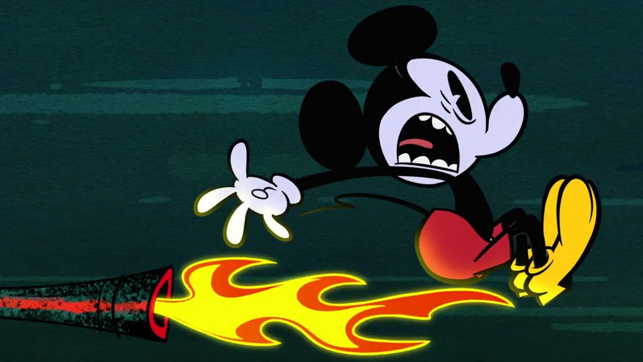 The Boiler Room | A Mickey Mouse Cartoon | Disney Shorts - YouTube