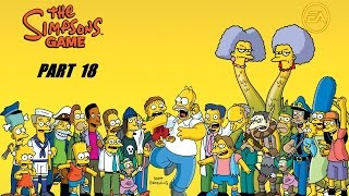 THE SIMPSON GAME PART 18  HD USA [English Gameplay Walkthrough] (no commentary)