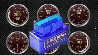 OBDII Bluetooth диагностика двигателя VW Polo Sedan программой Torque(Тестируем работу Bluetooth OBDII устройства для считывания параметров работы двигателя автомобиля купленного..., 2014-06-04T09:02:57.000Z)