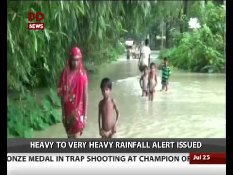 Flood situation worsens in Arunachal Pradesh and Assam (English)