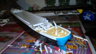 How We Build Revell R.M.S. Titanic 1:400