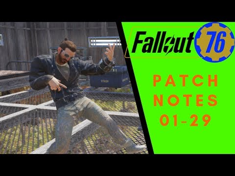 Fallout 76 Patch Notes for 01-29 thumbnail