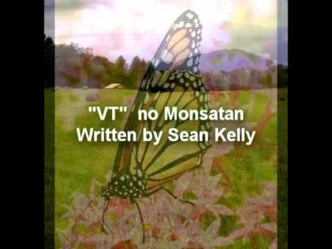 "keep ""VT"" free of MONSATAN  -by sean kelly"