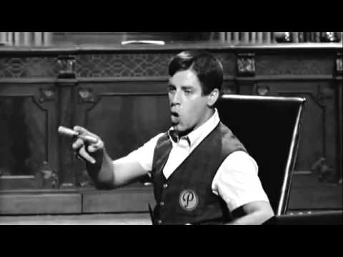 Jerry Lewis - The Errand Boy (1961) Pantomime