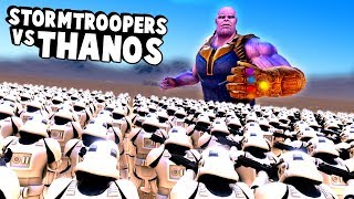 15000 Stormtroopers Try to Stop Thanos From Snapping the Universe in Ultimate Epic Battle Simulator!