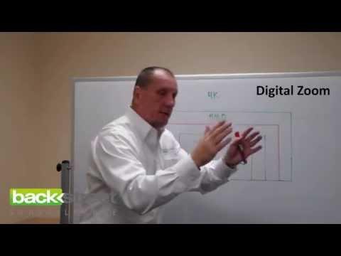 Security Cameras: Optical Zoom vs. Digital Zoom