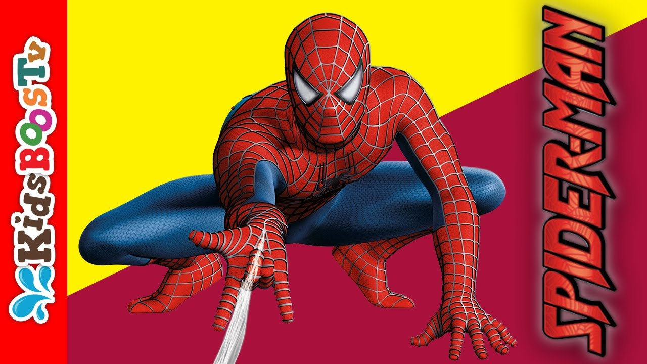 Spiderman Coloring Book Pages Learn