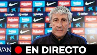 Directo | Rueda De Prensa De Quique Setién