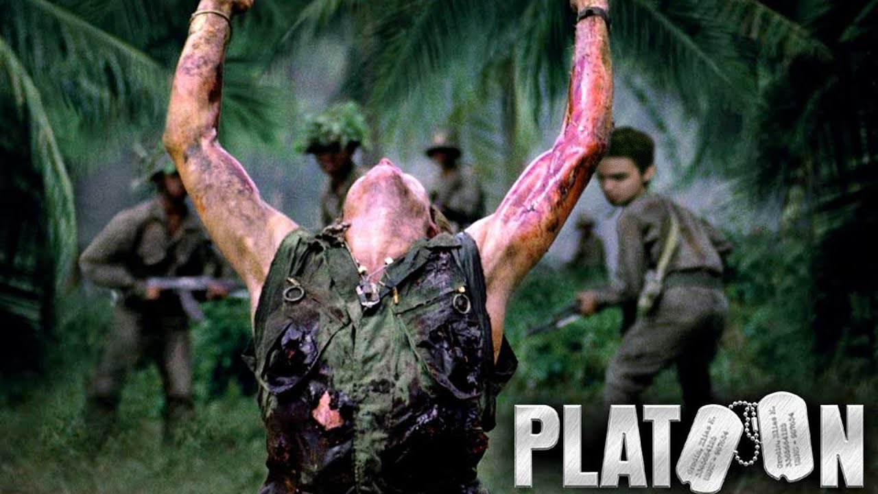essay on platoon movie This can be seen early in the film after the platoon engages the enemy on an all night ambush where a new recruit, gardner, ends up getting killed barnes points out how gardner didn't act the way he should have.