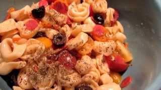 Cooking W/ Gradysmom13: Quick & Easy Tortellini Italian Pasta Salad
