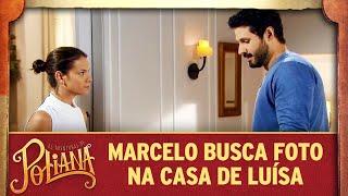Marcelo busca fotografia na casa de Luísa | As Aventuras de Poliana