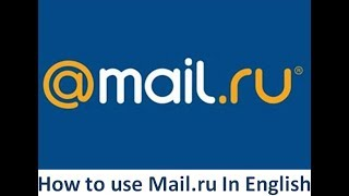 How to use mail.ru in English screenshot 2