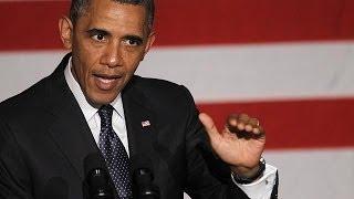 أوباما يهدد بتعطيل فرض عقوبات جديدة على ايران