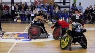 2° Torneo Internacional de Quad Rugby, Maldonado, Uruguay.
