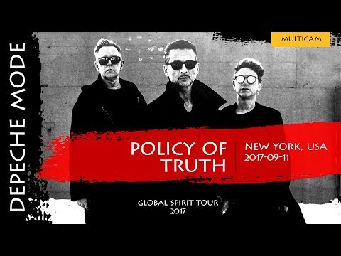 Depeche Mode - Policy of Truth (Multicam)(Global Spirit Tour 2017, New York, USA)(2017-09-11)
