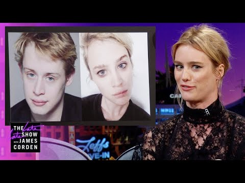 Mackenzie Davis & Macaulay Culkin Are Dopplegangers