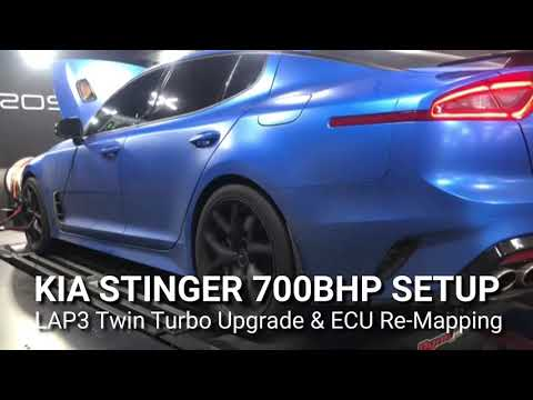 700HP Kia Stinger GT - The world's most powerful Stinger