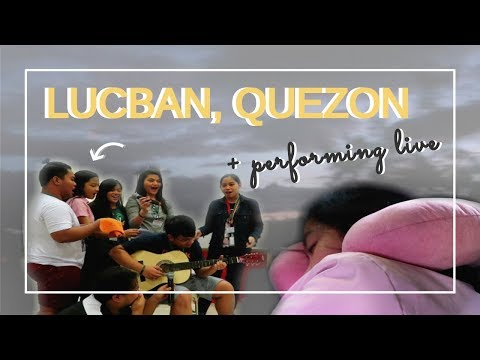 LEAVING EARLY FOR LUCBAN, QUEZON! + Performing in front of People, Hotel Room Tour, & more!