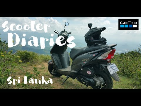 Scooter Diaries - Lake Plains(Wewathenna) - Sri Lanka - GoPro HERO5