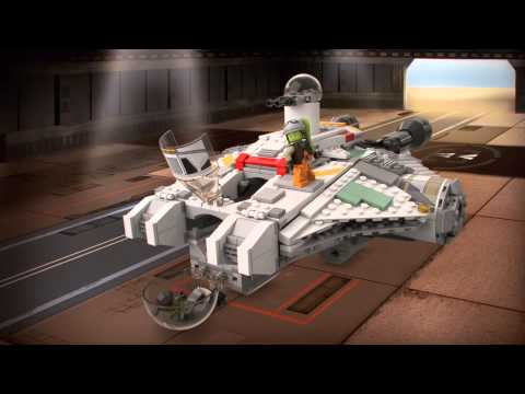 Lego StarWars | 75053 | Ghost | Lego 3D Review | HD - YouTube