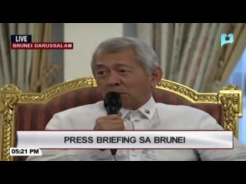 Duterte's China visit not right time to discuss sea row—Yasay