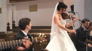 best surprise wedding song ever bride sings