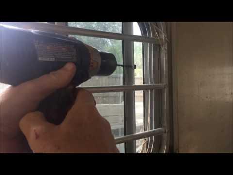 Horse Trailer Sliding Window Latch/Catch Repair