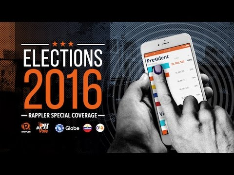 #PHVote: 2016 Philippine Election Results, May 10