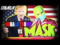 DONALD TRUMP VS THE MASK Starring Jim Carrey