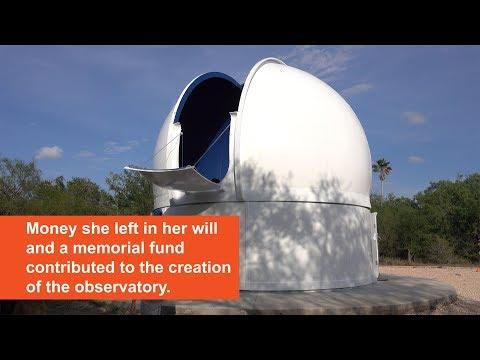 UTRGV Dr. Cristina V. Torres Memorial Astronomical Observatory Inauguration Ceremony Held