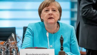 """German chancellor angela merkel said her left-right coalition has come up with a """"bold response"""" that will boost consumer spending, invest in innovation and ..."""