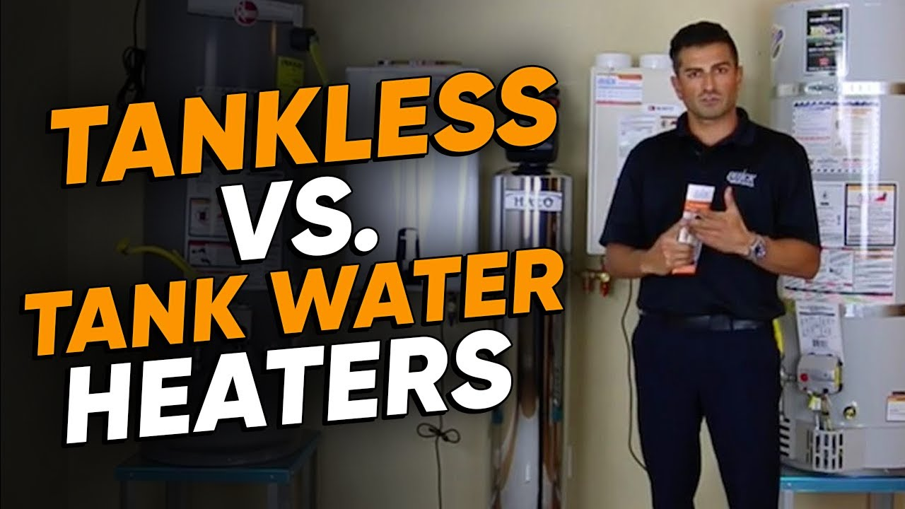 Tankless Vs Tank Water Heater Complete Explanation Youtube