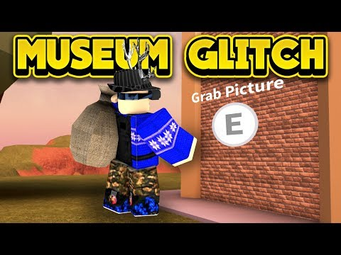 INSANE NEW MUSEUM GLITCH! (ROBLOX Jailbreak)