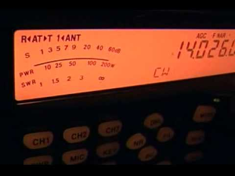 TX6G, Austral Islands, on 14 MHz CW