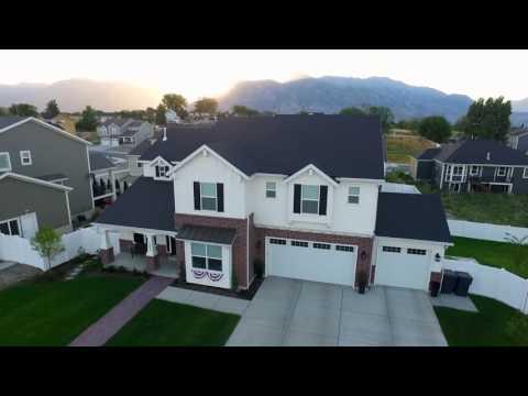 Oakwood Homes Aerial Video - American Fork, Utah