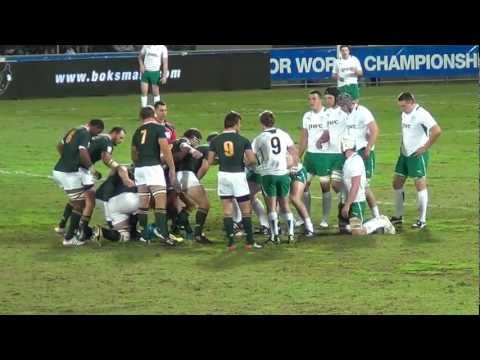 south africa junior rugby world cup 2012 video 3