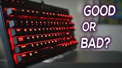 Corsair K63 Keyboard Review - Best Entry Level Keyboard?