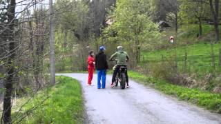 Důležité pokyny pro zastavení motorky