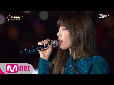 Free Download [2016 Mama] Taeyeon - Rain Mp3 dan Mp4
