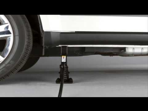 2013 Dodge Journey Jacking And Tire Changing Youtube