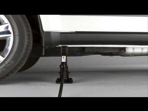 Dodge Journey 2016 >> 2013 Dodge Journey | Jacking and Tire Changing - YouTube